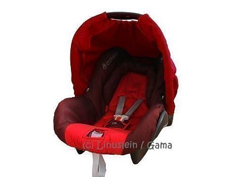 Protección Solar Color Rojo Tejadillo de Sol para Portabebés ...