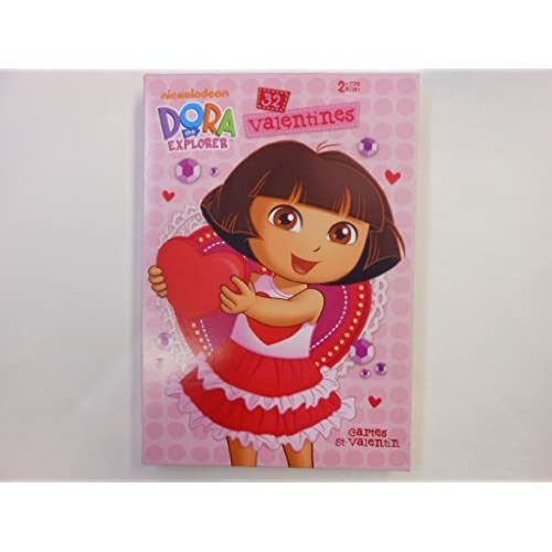Nickelodeon Dora the Explorer 32 Valentine Cards Sales