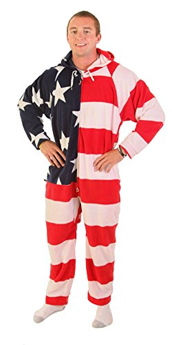 Forever Lazy Adult Onesie - American Dreamer - XL
