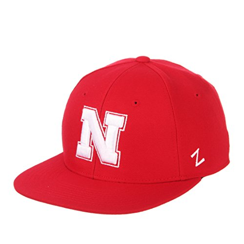 - Zephyr Nebraska Cornhuskers Official NCAA M15 Size 7 7/8 Fitted Hat Cap by 531709