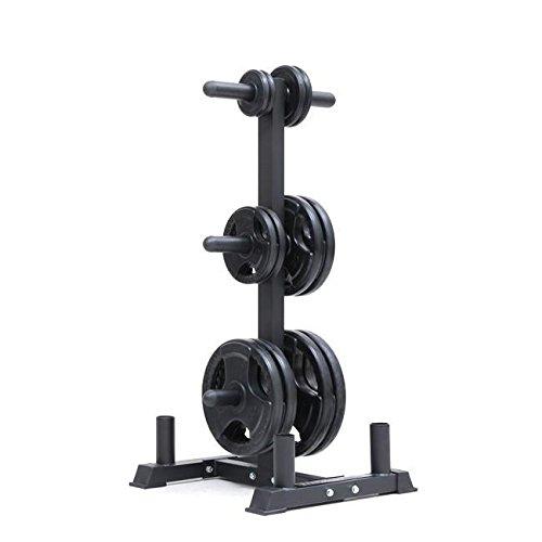 Xtreme Monkey Olympic Weight Tree-Heavy Duty Rack