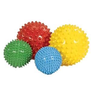 Amazon.com: Kaplan Sensory Balls (Set of 4): Toys & Games