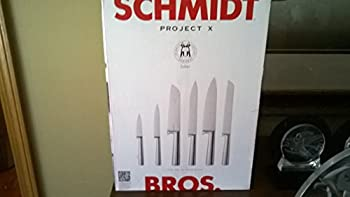 Schmidt Brothers Project X Saber 7 Piece set w/Knife Block