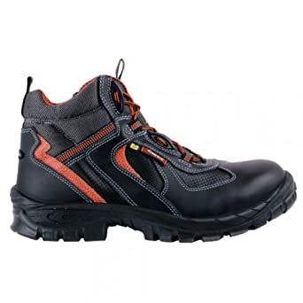 Cofra – Botas de seguridad Yule S3 ESD Asgard 13041 – 000, Alto Zapatos,