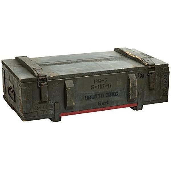 Caja de municiones PG 7 Almacenamiento pecho ca 80x42x24cm Cajón militar Munitionsbox Caja de madera Caja de Madera Caja de vino Cajón de manzana Shabby Vintage: Amazon.es: Jardín