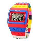 EchoAcc® Colorful Multi-functional CHM SPL ALM 30 M Waterproof Sports Watch