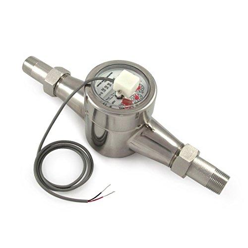 """EKM Metering 3/4"""" Water Meter - Stainless Steel, Pulse Ou..."""