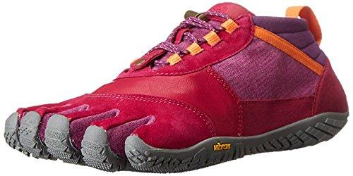Vibram Women's Trek Ascent LR Light Hiking Shoe, Pink/Grey/Orange,39 EU/8 M US