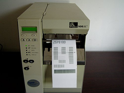 105sl Kit - Zebra 105SL 10588-3004-0002 Thermal label Printer W/ Parallel, Serial l & Print