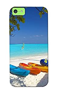 Catenaryoi Durable Island Hideaway At Dhonakulhi Back Case/ Cover For Iphone 5c For Christmas' Gifts