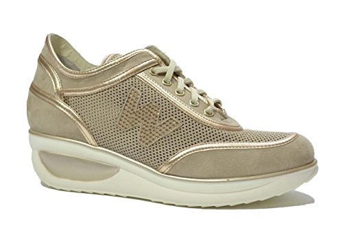 Brown Marron femme pour Baskets MELLUSO pwUzq7Zp