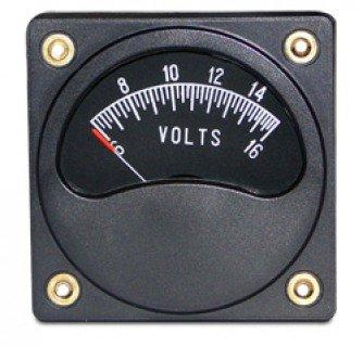 FALCON GAUGE 2-1/4 VOLTMETER 6-16V ()