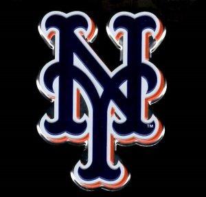 MLB New York Mets Die Cut Color Automobile Emblem