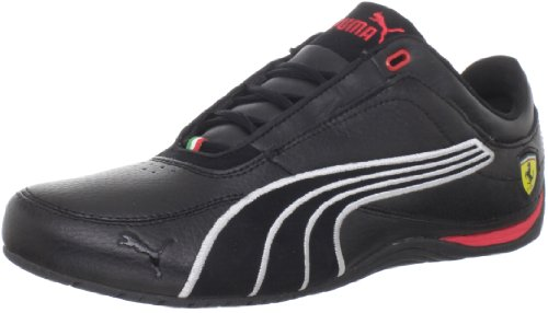 Puma Drift Cat 4 SF Carbon Fashion Sneaker Black/Rosso Corsa