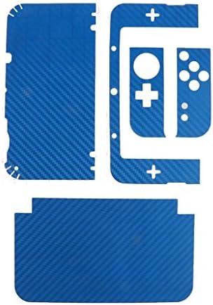 [スポンサー プロダクト]New3DS LL カーボンスキンシール 青 [並行輸入品]