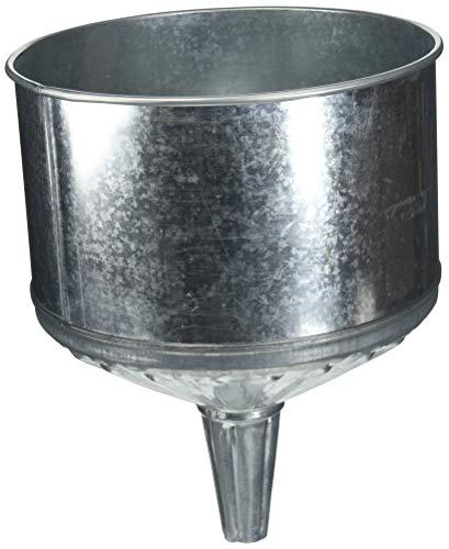 OEMTOOLS 87040 8 Qt Galvanized Steel Funnel ()
