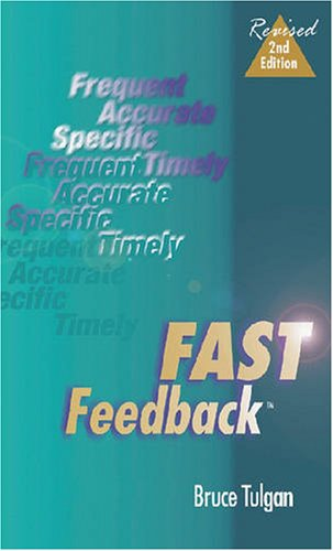 Fast Feedback, Second Edition by Human Resource Development Pr