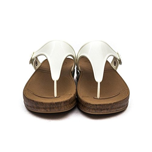 Fitflop Women's Thong Sandals Bianco VflqRWrh