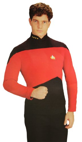 Star Trek The Next Generation Uniform Shirt Costume (Gold)