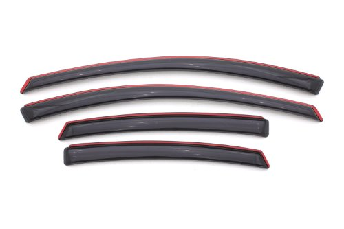 Auto Ventshade 194529 In-Channel Ventvisor, 4-Piece Set for 2013-2016 Dodge (Four Darts)