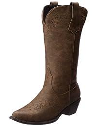 Roper Women's Scrolls and Vines Western Boot