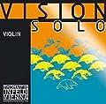 Thomastik Vision Solo 4/4 Violin String Set - Medium Gauge - with Silver Wound D String