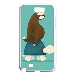 tortoise Discount Personalized Cell Phone Case for Samsung Galaxy Note 2 N7100, tortoise Galaxy Note 2 N7100 Cover Kimberly Kurzendoerfer
