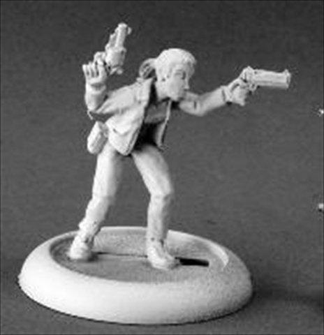 Reaper Miniatures 50205 Chrono Joplin, Zombie Survivor
