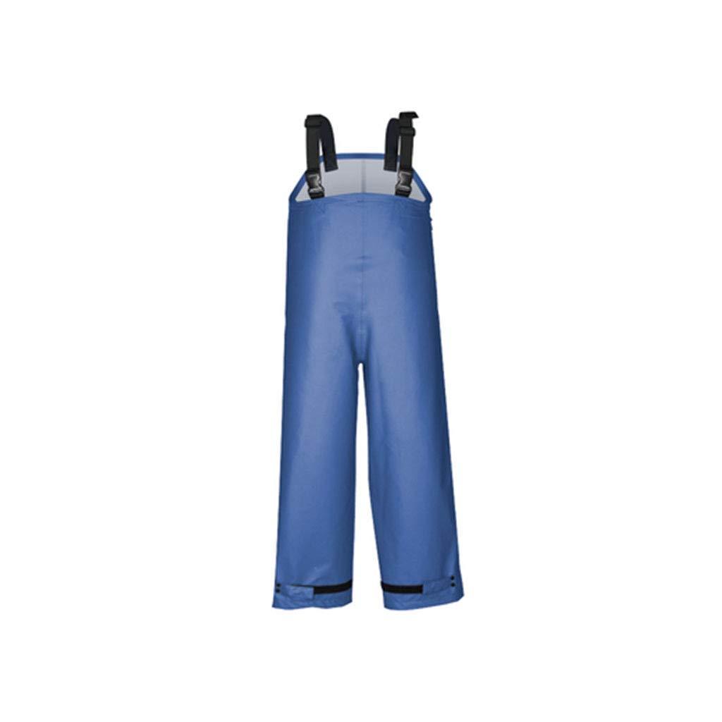 bleu Pants grand HBWJSH Imperméable imperméable épais pour Hommes imperméable imperméable imperméable pour Hommes Split Split imperméable équitation (Noir, Bleu) (Couleur   noir Top, Taille   L)