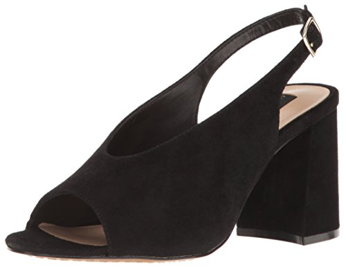 Steven By Steve Madden Womens Womens Dress Sandalo Nero In Pelle Scamosciata