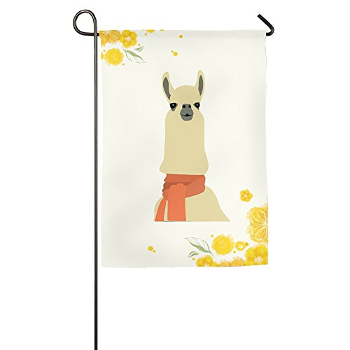 Llamas Are Awesome Garden Flag