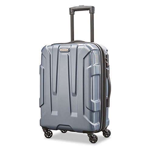 (Samsonite Carry-On, Blue Slate)