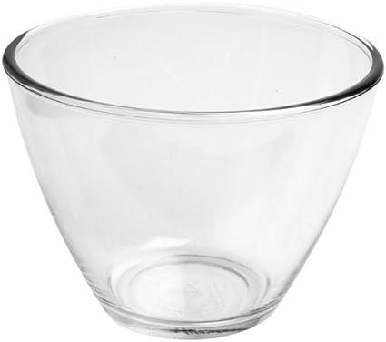 Set of 4 1 Quart Anchor Hocking Splashproof Glass Mixing Bowls