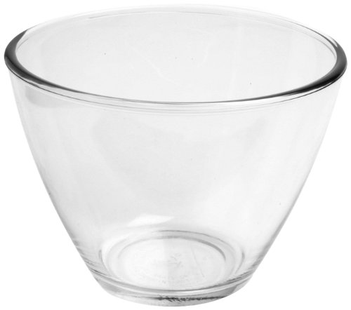 Anchor Hocking Splashproof Glass Mixing Bowls, 1 Quart (Set of 4)
