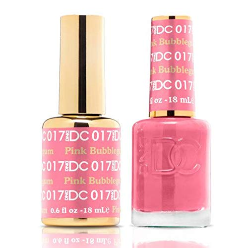 DND DC Duo Gel + Polish - 017 Pink Bubblegum]()