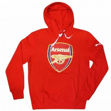 cheap for discount 529a4 3eac1 Arsenal PUMA FC Crest Hoodie