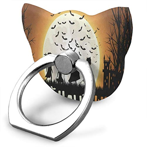 Adorable Customized Finger Ring Stand Halloween Children Trick Or Treat 360°Rotation Cell Phone Ring Stand Holder Grip Universal Smartphone Ring