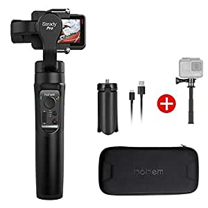 3-Axis Hohem iSteady Pro Gimbal Stabilizer Compatible with GoPro Hero 7 6 5 YI Cam Action Cameras Handheld Gimbal with Mini Tripod for GoPro