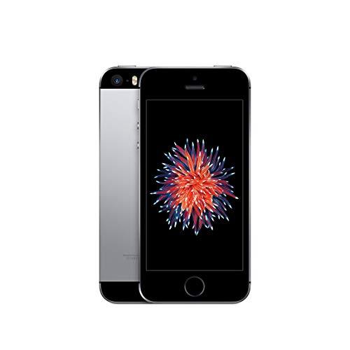 Apple iPhone SE, 16GB, Space Gray - Fully Unlocked (Renewed)
