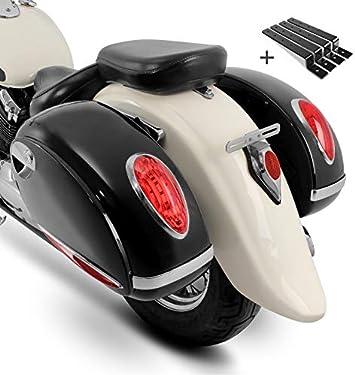 Seitenkoffer Craftride Alabama Paar Je 33l Haltesatz Suzuki Intruder Vl 1500 250 Lc Vl 800 Volusia Intruder Vs 1400 600 750 800 Ls 650 Savage Marauder Vz 800 Auto