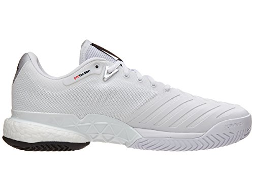 2018 Metallic Men's adidas Shoe Barricade silver White Boost Tennis w4C5vOxRq5