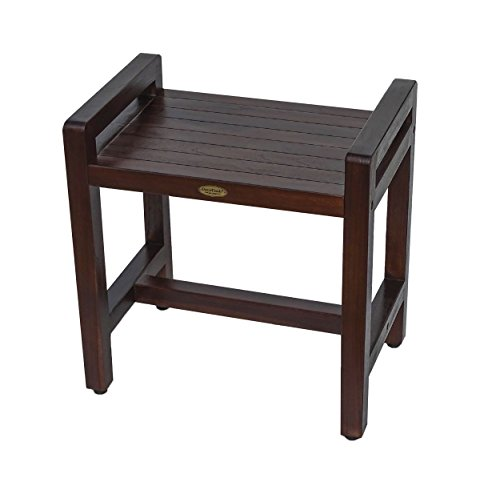 Table Rattan Painted (Decoteak DT107 Classic Shower Stool, Brown)