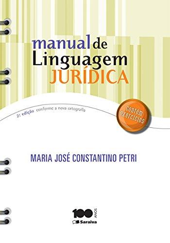 Manual de Linguagem Jurídica
