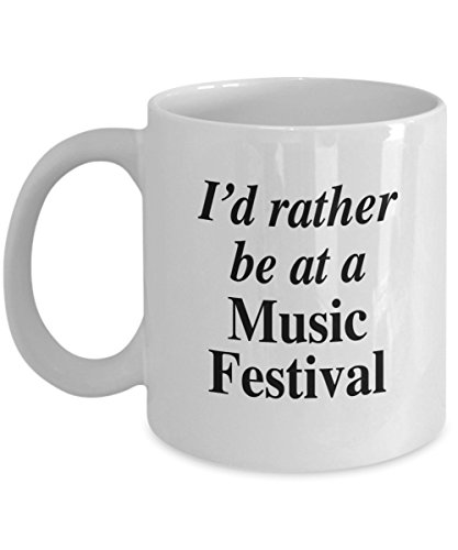 (Love the Music festivals - wonderful good times listening to the creative music and instrumentals mug)