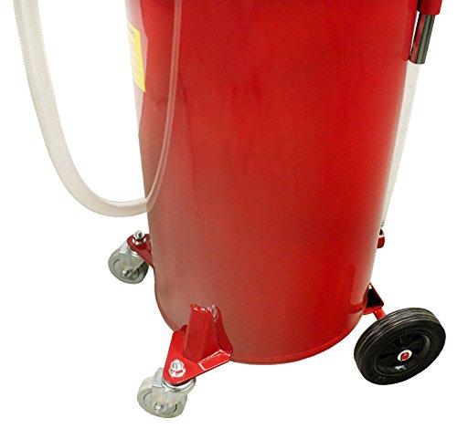 Dragway Tools 18 Gallon Oil Waste Drain Tank Pan for Lift Jack Hoist Shop Crane by Dragway Tools (Image #5)