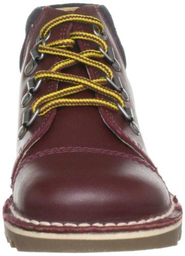 Kick klassischen EU26 Kickers Stiefel BRWON Textil Kids nBqPR0