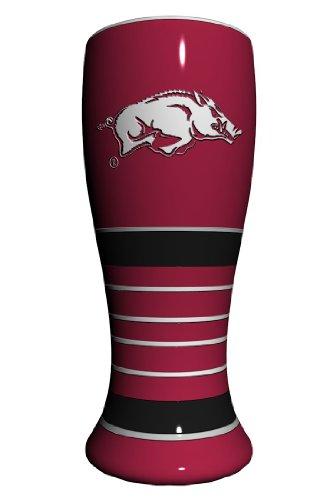 NCAA Arkansas Razorbacks Artisan Pilsner Glass, 23-ounce