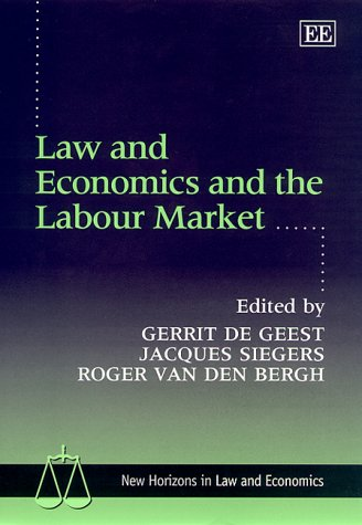 Law and Economics in the Labour Market (New Horizons in Law and Economics) PDF