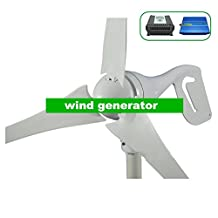 GOWE 600W max Wind turbines,12V/24V windmill +Wind/solar hybrid controller(LCD display)+600w off grid pure sine wave inverter.