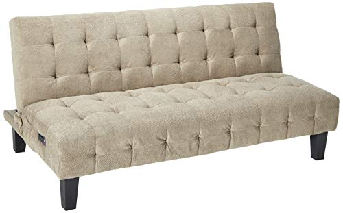 Coaster 500295-CO Convertible Sofa with Usb and Power Ports, In Taupe